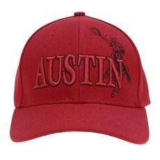 Boné Austin Western Vermelho Bordado 26692