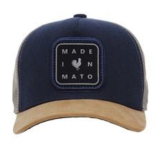 Boné Azul com Telinha Made In Mato 28502