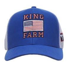 Boné Azul King Farm com Tela 27998