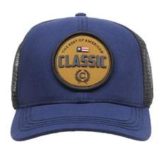 Boné Azul Snapback com Telinha Classic 29484