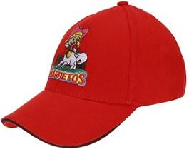 Boné Barretos Infantil Vermelho com Fechamento em Velcro - Bonnet 17058