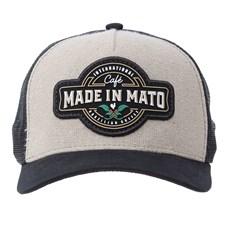 Boné Bege de Tela Made In Mato 28507