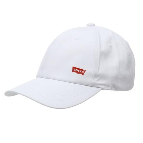 Boné Branco Aba Curva Strapback Levi's 28829