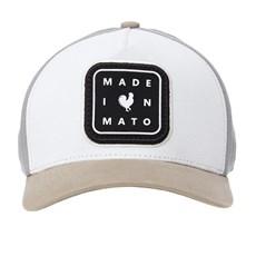Boné Branco Snapback Made In Mato 28506