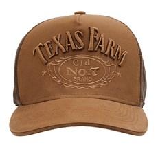 Boné Caramelo Trucker Snapback Texas Farm 29044