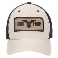 Boné com Tela Preta King Farm 23517