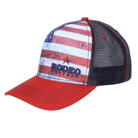 8d9ce18feba90 Boné Estados Unidos com Tela Rodeo Western 23357 - Rodeo West