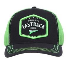 Boné Fast Back com Telinha Verde Fluorescente 28010