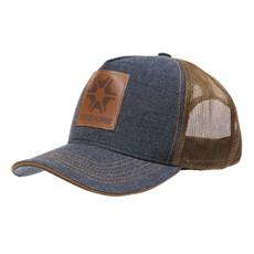 Boné Jeans Trucker com Tela Texas Farm 29038