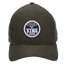 Boné King Farm Aba Curva Strapback Verde 23767