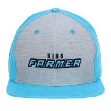 Boné King Farm Aba Reta Azul Claro 20312