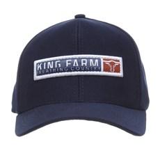 Boné King Farm Azul Marinho Snapback 27992