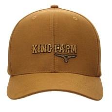 Boné King Farm Caramelo Snapback 30052