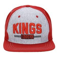 91e4b81495e89 ... Boné King Farm Vermelho Aba Reta 23080