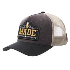 Boné Made In Mato Marrom com Tela 29976