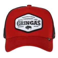 Boné Original Gringa's Western Vermelho de Tela 24942