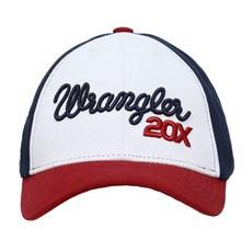 Boné Original Wrangler Branco Snapback 28395