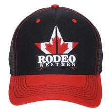 Boné Preto Bordado Rodeo Western Aba Curva 23362