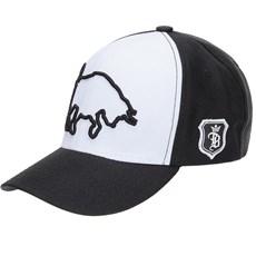 Boné Preto Branco Top Bulls 21678