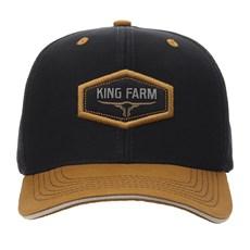 Boné Preto King Farm com Tela 30050