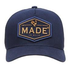 Boné Trucker Azul Marinho com Tela Made in Mato 29188