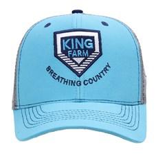 Boné Trucker Azul Snapback King Farm 29010
