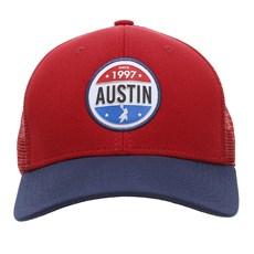 Boné Vermelho de Telinha Austin Western 28428