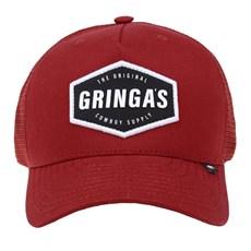 Boné Vermelho Gringa's Western Original com Tela 23941