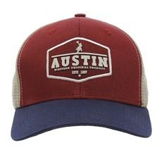 Boné Vinho de Telinha Austin Western 28430