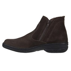 Boottenis Masculino com Zíper Cow Way Nobuck Chocolate 24106