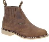 Bota Cano Curto Masculina Marrom Urbana Boots 19653