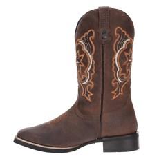 Bota Country de Couro Masculina Marrom Via Boots 19639