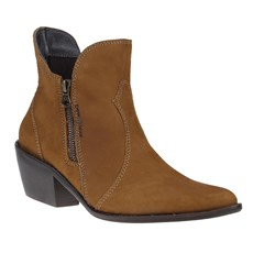 Bota Country Marrom Bico Fino Feminina Cow Way 24516