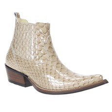 Bota Country Texana Masculina Anaconda Osso Cow Way 23496