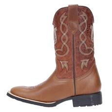 Bota de Cowboy Masculina Cano Longo Cow Way Marrom 21597