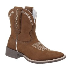 Bota Feminina Country Cow Way Western Marrom 26495