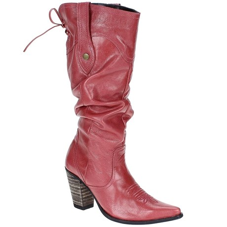 a267e60158 Bota Feminina Texana Cano Longo Sanfonado - West Country 17779 ...
