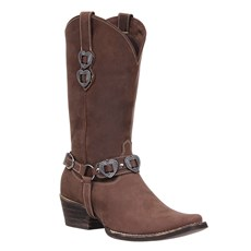 Bota Feminina Texana Tabaco Cow Way 27064