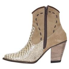 Bota Feminina Urbana Boots Anaconda Palha 21537