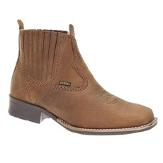 Bota Masculina Cano Curto Bico Quadrado Urbana Boots 19652
