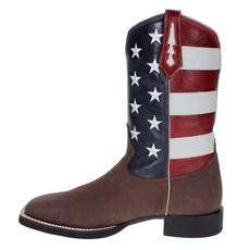 Bota Masculina Western com Detalhe Bandeira EUA - West Country 17785