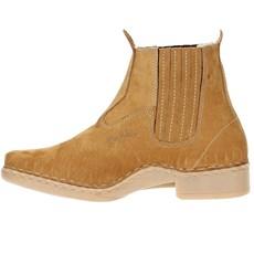Bota Nobuck Masculina Cano Curto Amarela Potro 21418