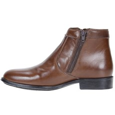 Bota Social Marrom Masculina Cow Way 21476