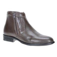 Bota Social Masculina Marrom Cow Way 21358