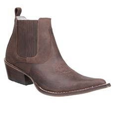 Bota Texana Marrom Masculina Cow Way 27889