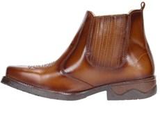 Botina Cano Curto Marrom Potro Masculina 19907