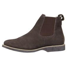 Botina de Couro Masculina Marrom Urbana Boots 26721