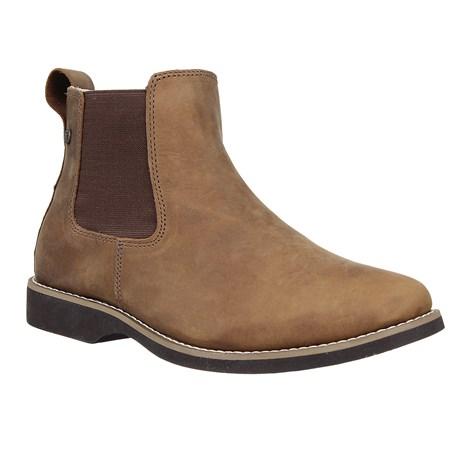 Botina de Couro Masculina Marrom Urbana Boots 26729