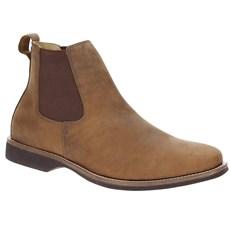 Botina de Couro Masculina Urbana Boots Cano Curto 19702