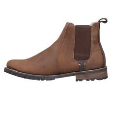 Botina de Couro Masculina Urbana Boots Marrom 26730
